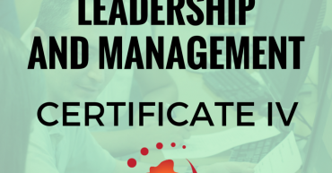 certificate iv in Leadership and Management